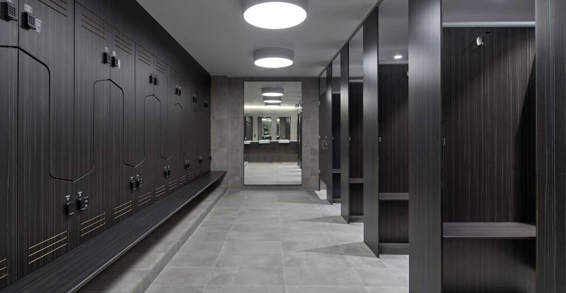 73 Northbourne Avenue locker-room